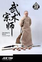ACE TOYZ 1/6 AT-006 Fung Fu Master Jet Li Action Figure Full Set INSTOCK