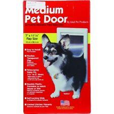 """Ideal Pet Door Medium 7� x 11 1/4"""" Doggie Door New"""