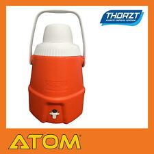 Thorzt 5L Drink/Water Cooler with Tap & Cup Hi Vis Orange - DC05O