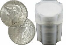 Roll of 20 Random Year 1922-1926 $1 Peace Silver Dollars About Uncirculated