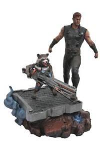 Avengers Infinity War Marvel Premier Collection Statue Thor & Rocket Raccoon 30