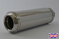 CBF125 08-14 SP Engineering Polished Stainless Domed GP Stubby Exhaust System
