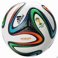 Adidas Brazuca Replica Soccer Match Ball FIFA World Cup 2014 Sports Football New