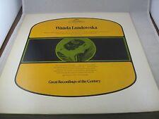Wanda Landowska Mozart Haydn Recorded in 1937 Vintage Record LP