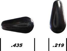 100 Ice Jig Blades Standard Tear Drop Polished Nickel make your own fishing jigs