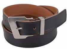 New Saint Laurent YSL Men's 314543 Black Leather Belt 42 105