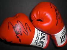 Signierte Boxhandschuhe *Sylvester Stallone* *Balboa - Creed* Movie-Prop rot