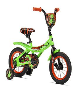 """Kent 12"""" Dino Power Boy's Bike, Green"""