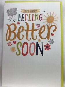Beautiful Hallmark AppleJack Hope You're Feeling Better Soon  Card