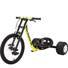 Drift Trike Moto Style Handlebars Triple Crown Fork Adjustable Bucket Style Seat