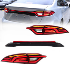 For Toyota Corolla 2020 21 Start Up Animation Led Red Rear Light Assembly