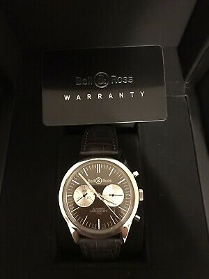Bell and Ross BR 126 Officer Brown 41mm, Limited Edition, With Box And Paper.
