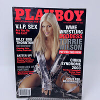 Playboy Magazine May 2003 WWE Wrestling Torrie Wilson, Billy Bob Thornton