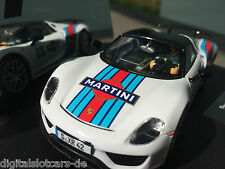 "Carrera Evolution 27467 PORSCHE 918 Spyder "" Martini Racing, No. 23 "" NEU OVP"