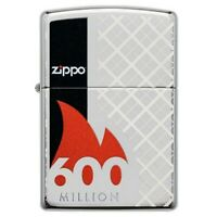 Zippo Limited Edition 600 Million Design Wind Proof Cigarette Tobacco Lighter