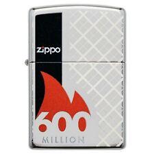 More details for zippo limited edition 600 million design wind proof cigarette tobacco lighter