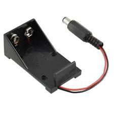 9V Volt Battery Holder Box Case Plug 5.5X2.1 for Arduino Power Supply P8U8