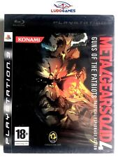Metal Gear Solid 4 Guns Patriots PS3 Playstation Nuevo Precintado Sealed New
