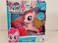 "My Little Pony PINKIE PIE 6"" BRUSHABLE Glitter & Style Seapony MLP NIB FiM G4 FS"
