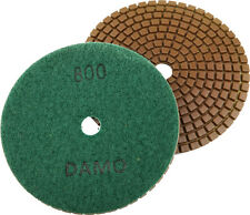 "5"" Wet Diamond Polishing Pad Grit 800 for Granite/Concrete/Marble Countertop"