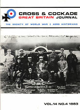 CROSS & COCKADE Great Britain Journal Vol14 No 4 1983 Zeppelin 2 Seater Aircraft