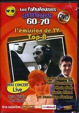 "DVD NEUF ""TOP A"" C. AZNAVOUR, Nana MOUSKOURI, S. DISTEL"