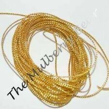 """6 Yds Lt Weight Gold CORD for Card Embellishments 1/16"""""""