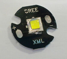 HOT Cree XM-L2 XML2 LED Cool White 6000-6500K T6 w/ 16mm Round Base