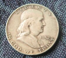 "1/2 DOLLARO ""LIBERTY BELL"" / FRANKLIN 1952 - Argento - nr 630"