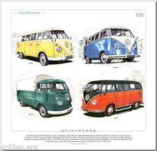 VOLKSWAGEN THE SPLIT SCREEN - FINE ART PRINT - Transporter Camper Van Type 2 VW