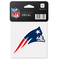 New England Patriots Car Window Decal 4 Die Cut Logo
