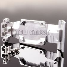 Aluminum Rear Skid Plate FOR RC 1/10 TRAXXAS SUMMIT SLAYER PRO 4X4 Silver
