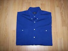 MENS BLUE HUGO BOSS SHORT SLEEVED SHIRT - XXL / 52""