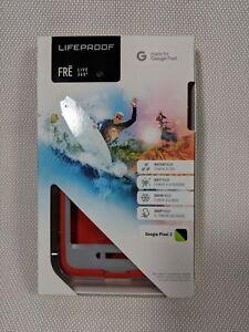 #1 Lifeproof 77-56091 FRĒ Series Waterproof Case for Google Pixel 2 - Red/Gray