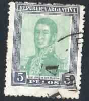 ARGENTINE VARIETY  N°:209  ( parasitic trait on republica ) USED   CV : 75 €