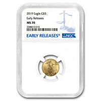 2019 1/10 oz Gold American Eagle MS-70 NGC (Early Releases) - SKU#171549