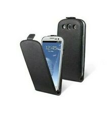 CASE COVER LEATHER CASE GENUINE MOXIE ECOLOGICAL SAMSUNG GALAXY S3 I9300 BLACK