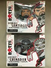 GEARS OR WAR Batsu Vinyl Neca Locust Grenadier Dominic Santiago Bundle Figure