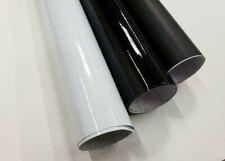 Gloss Matte Black White 12 Width Vinyl Car Auto Wrap Sticker Decal Film Roll