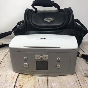 HP Photosmart 325 Digital Photo Inkjet Printer With Carrying Bag