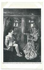 ROYALTY - QUEEN ELIZABETH KNIGHTING SIR FRANCIS DRAKE,  SOUTHEND ON SEA Postcard