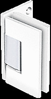 CRL White With Chrome Accents Geneva 044 Series Wall Mount Offset Back Plate...