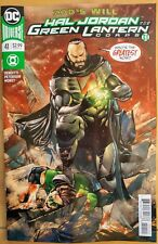 Hal Jordan and the GREEN LANTERN CORPS #40a (2018 DC Universe Comics) VF/NM Book