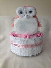 GUFO BABY / DOCCIA gift-one,1 Tier GUFO pannolino cake-boy, girl,unisex-free Affrancatura