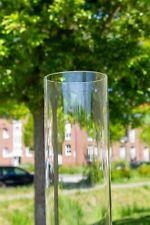 Extra langes Glasrohr 150cm für Flammenheizer, Pellet Fackel  150 cm x 9,5 cm