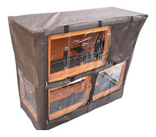 More details for bunny business hutch cover bb-41-ddl & bb-48-ddl double decker hutch and run