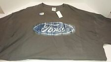 Ford Logo  T-shirt Licensed Ford Logo on Chest Tee 100% Cotton 3XL