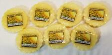 Yankee Candle Tarts: FLOWERS IN THE SUN Wax Melts Lot of 7 Yellow New