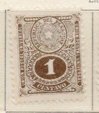 Paraguay 1910-19 Early Issue Fine Mint Hinged 1c. 169811