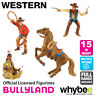 Genuine Bullyland Western Collection Plastic Figurines Cowboy & Indian Figures